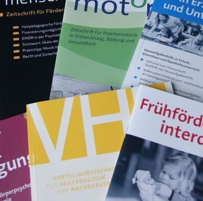 Zeitschriften im Reinhardt Verlag